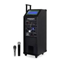 Музыкальная станция, караоке видео проигрыватель IBIZA SOUND PORT9DVD-VHF PORTABLE 9-дюймов TFT