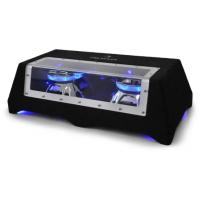 Автомобильный сабвуфер Auna C8-Sub-2x12-LED 30 см (12 дюймов) 2 x 800 Вт AS14TTLBRN