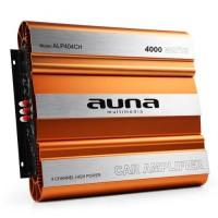 Автомобильный 4-канальный усилитель AUNA ALP404CH 640 Вт RMS 4-канальный МОП-транзистор 4000 Вт макс Orange
