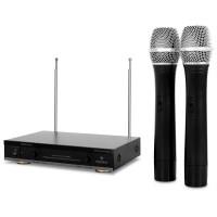 Набор беспроводных микрофонов AUNA FU2B BK