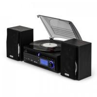 Стереофонический проигрыватель винила Auna DS-2 CD MP3-рекордер USB SD AUX-In FM / AM