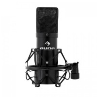 Конденсаторный микрофон Auna MIC-900BK