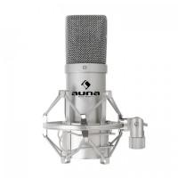 Конденсаторный микрофон Auna MIC-900S USB Silver