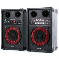 Активная акустическая система Fenton SPB-8 PA 400 Вт макс. USB SD MP3 BT USRPDNP