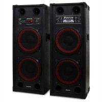 Активная акустическая система Fenton SPB-210 PA 2x 25 см (10 дюймов) Bluetooth