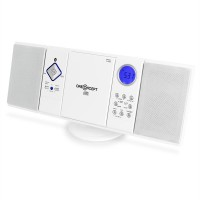 Вертикальная стереосистема ONEconcept V-12 USB CD MP3 SD AUX FM  Bluetooth White