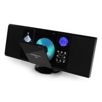 Вертикальная стереосистема ONEconcept V-12 USB CD MP3 SD AUX FM Bluetooth Black