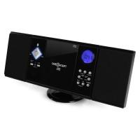 Вертикальная стереосистема ONEconcept V-12 USB CD MP3 SD AUX FM Black