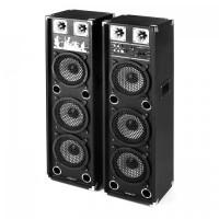Комплект oneConcept BSX-238A PA Speaker USB microSD AUX MIC 200W