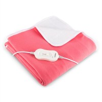 Одеяло с электрическим подогревом Klarstein Winter Dreams 60W 150x80cm Pink