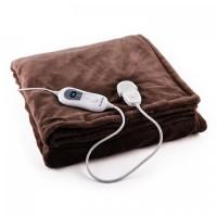 Одеяло с электрическим подогревом Klarstein Dr. Watson  Heizdecke  120W 180x130cm BRN