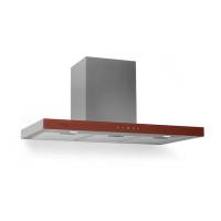 Кухонная вытяжка Klarstein Bon Vivant 90см 650m³ / ч RED