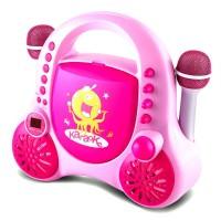 Детское караоке Auna Rockpocket Pink