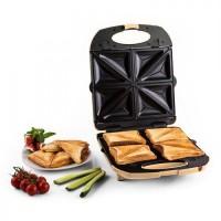 Сэндвичница Klarstein Trinity 3in1 Sandwich Maker XXL 1300 Вт BG