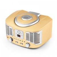 Ретро-CD-плеер auna RCD 320 FM AUX YEL