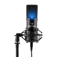 Конденсаторный микрофон Auna MIC-900B-LED BK