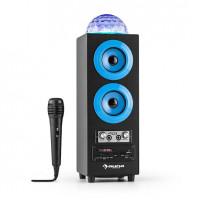 Портативный 2.1 Bluetooth-динамик Auna DiscoStar USB АКБ LED Микрофон BLVTA0