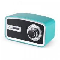 Цифровое радио Auna Sheffield ретро DAB + VHF, будильник