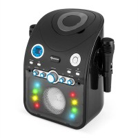 Караоке-система Auna StarMaker CD Bluetooth AUX LED Black