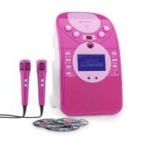 Система караоке  Auna ScreenStar CD USB SD MP3 PNK