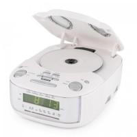 Радио часы Auna Dreamee SL радио с CD-плеером FM / MW AUX White
