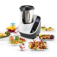 Кухонный многофункциональный комбайн Klarstein Food Circus 10 программ 500/1100W White