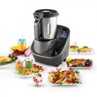 Кухонный многофункциональный комбайн Klarstein Food Circus 10 программ 500/1100W Grey RBVO