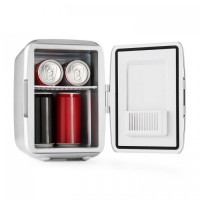 Автомобильный мини-холодильник OneConcept Picknicker Thermo-Kühl 4L AC DC Silver