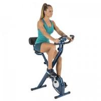 Велотренажер Klarfit Azura CF X-Bike blau, монитор сердечного ритма, 100 кг