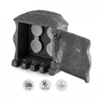 Садовый разветвитель Waldbeck Power Rock Remote с пультом ДУ Grey
