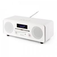 Настольный радиоприемник CD-плеер Auna Melodia CD DAB + / FM Bluetooth Будильник WH VT1