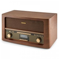 Ретро музыкальный центр Auna Belle Epoque 1906 DAB Bluetooth CD USB MP3 FM RDS