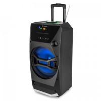 Мобильная акустическая система Auna Brooklyn Beat Mobile Party Box 100W RMS Bluetooth USB SD CD-плеер FM-радио