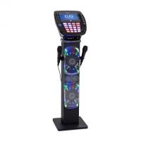 "Акустическая система караоке стойка Auna KaraBig Bluetooth LED 7 ""TFT CD USB"