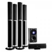 5.1-канальная система объемного звучания  Auna Areal 652 145 Вт RMS Bluetooth USB SD AUX