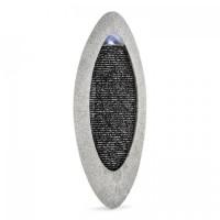 Декоративный настенный фонтан Blumfeldt Gavarnie LED овальный, 6 Вт