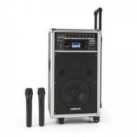 Портативная аудиосистема Vonyx ST-100 MK2 PA Bluetooth CD USB SD MP3 аккумулятор UHF