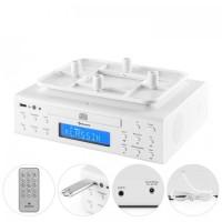 Кухонное радио Auna KRCD-150 CD USB AUX FM RDS Будильник пульт ду White