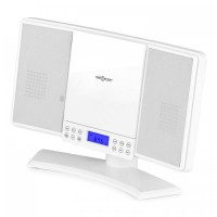 Вертикальная стереосистема  ONEconcept V-14 AM / FM CD MP3 AUX White