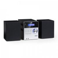 Микро стереосистема Auna MC-20 DAB + CD Bluetooth ДУ Black