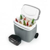 Мобильный охладитель Auna Picnicker Trolley Music Cooler 36 л с интегрированным BT-динамиком