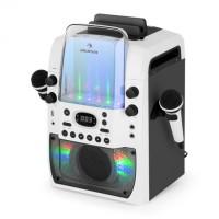Караоке система  Auna Kara Liquida BT световое шоу фонтан Bluetooth WH/GR