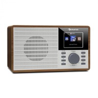"Интернет-радио Auna IR-160 WLAN USB AUX UPnP 2,8 ""TFT-дисплей"