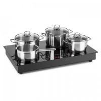 Индукционная плита со свободной зоной Klarstein Deejay 3500 Вт, стеклокерамическая поверхность VT1A0