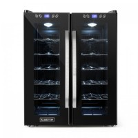 Винный холодильник Klarstein SaloonNapa 67L 2 стеклянные двери 11-18°C DTST