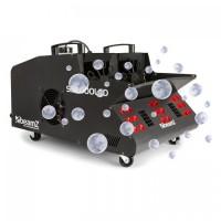 Машина для производства дыма и мыльных пузырей BeamZ SB2000LED, 2000 Вт, 1,35 л, бак RGB, светодиоды DMX