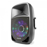 """Активный динамик Fenton FT1200A 250 Вт 12 """"MP3 Bluethooth USB SD AUX LED LCD"""