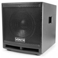 "Активный сабвуфер Vonyx VX1000BT 400 Вт 10 ""сабвуфер BT USB SD MIC AUX"