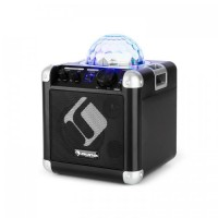 Мобильная караоке cистема Auna BC-10 LED Partylight Bluetooth АКБ AUX-In Black