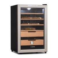 Шкаф для хранения сигар Klarstein El Presidente 65 Humidor 70 Вт сенсорный Cedarwood 65L LED DTST